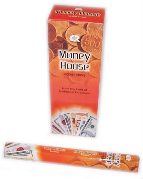 Money House Incense Sticks - Tube of 20